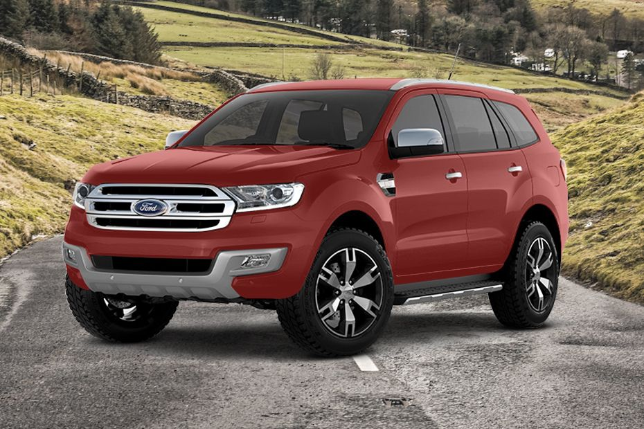 Ford Everest Colours Available In 6 Colours In Thailand Zigwheels