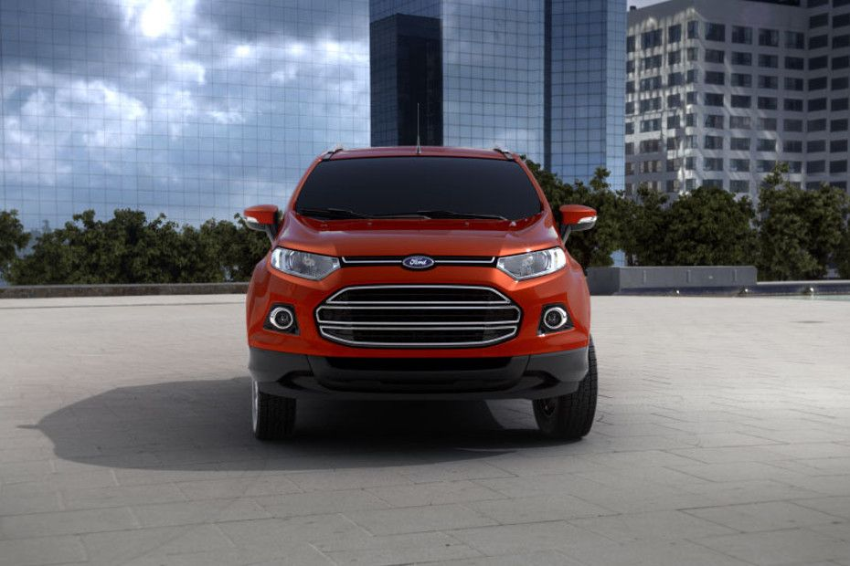 Full Front View of Ecosport