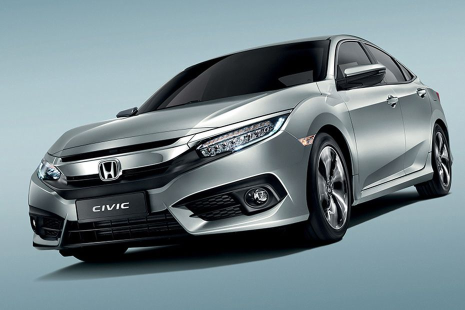 Civic Front angle low view