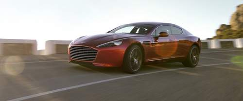 Rapide S Front angle low view