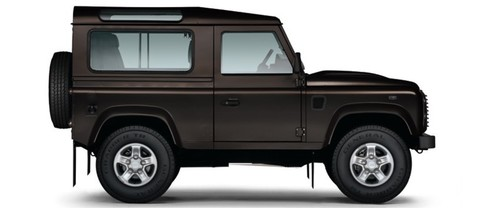 Land Rover Defender Drivers Sideview