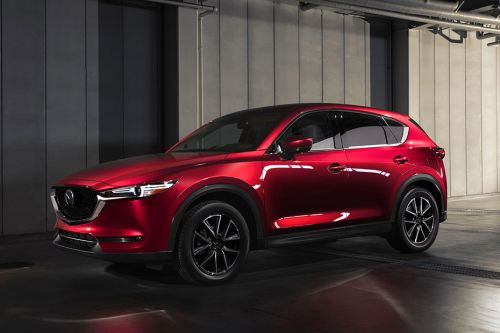 CX-5 Front angle low view