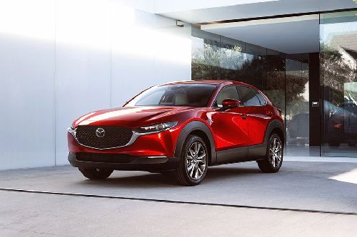 CX-30 Front angle low view