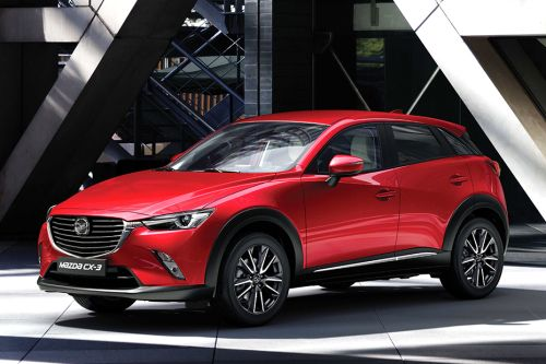 CX-3 Front angle low view