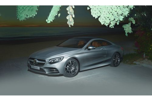 Mercedes-Benz S-Class Coupe Front Side View