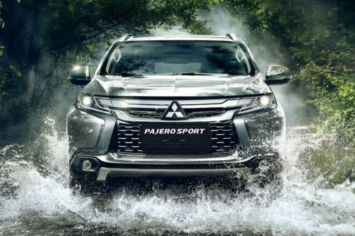 Full Front View of Pajero Sport