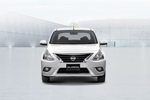 Full Front View of Almera