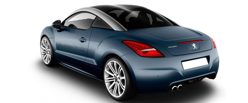 RCZ Side view