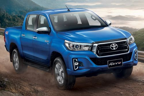 Toyota Hilux Revo Double Cab Front Medium View