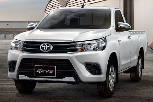 Hilux Revo Standard Cab Front angle low view
