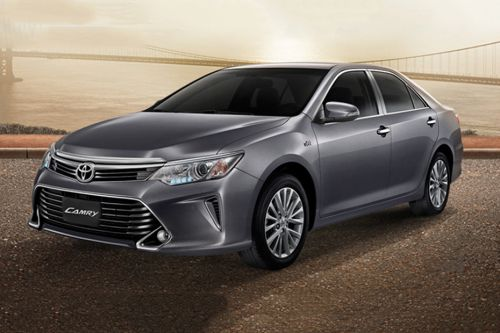 Camry Front angle low view