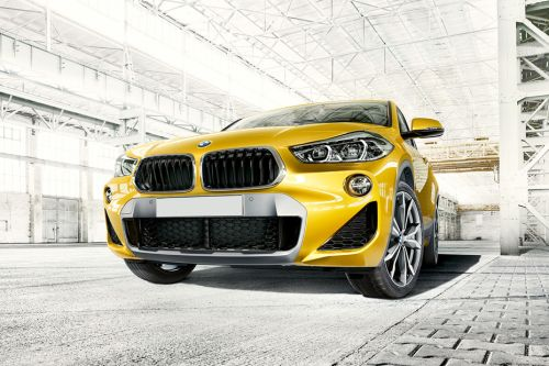 BMW X2 Front Side View