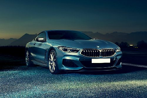 8 Series Coupe Front angle low view