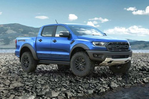 Ford Ranger Raptor Front Medium View