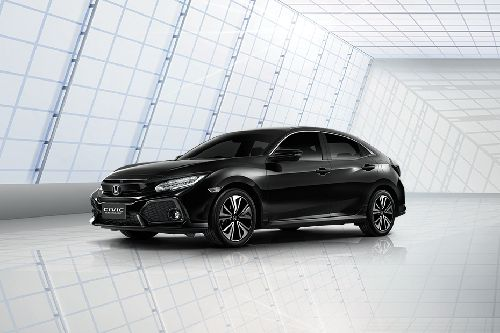 Civic Hatchback Front angle low view