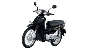 Honda Dream 110 i Slant Front View Full Image