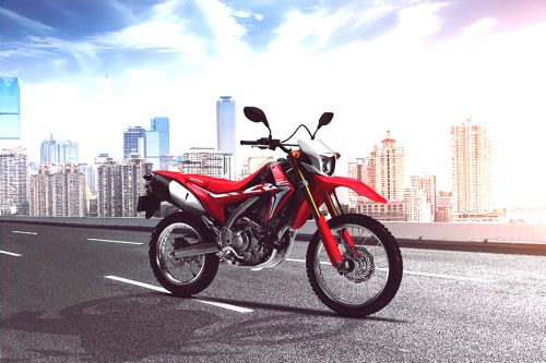 Honda CRF250L Slant Rear View Full Image